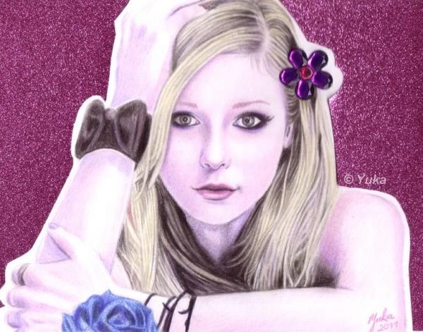 Avril Lavigne par Yuka